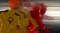 The Flash vs. Johnny Quick