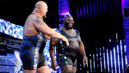 Big Show and Mark Henry
