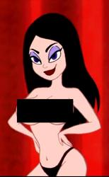 Velvet figure