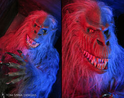 Fluffy-23-crate-beast-movie-costume-display 1