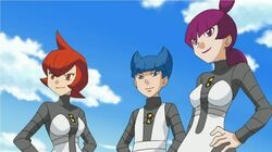 Saturn, Mars & Jupiter (Team Galactic's Commanders)