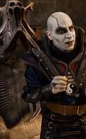 Quan Chi with his Throne