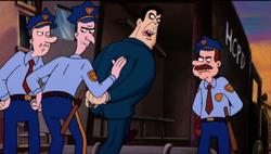 Scheck arrested