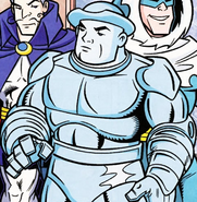 Blue Snowman DC Super Friends 001
