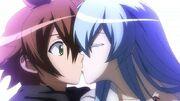 Esdeath Kisses Tatsumi1