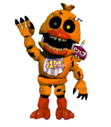 Adventure nightmare chica full body request by joltgametravel-d9h1z6k