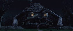 Constance as a monster house