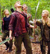 Cato and Glimmer