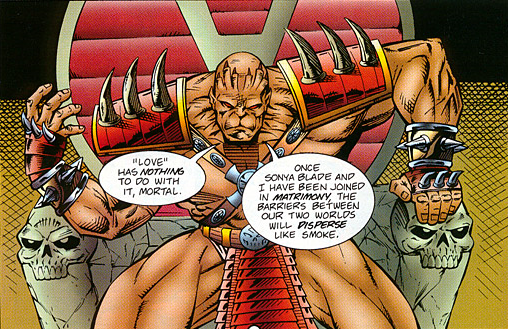 File:Unmasked Shao Kahn on His Throne.png