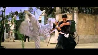 Gordon Liu jian contro katana (Heroes of the East)