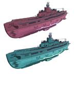 I-400 X I-403 Submarines