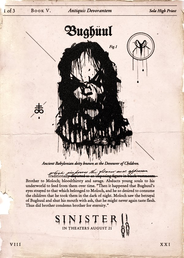 Sinister and Sinister 2 | Father Son Holy Gore