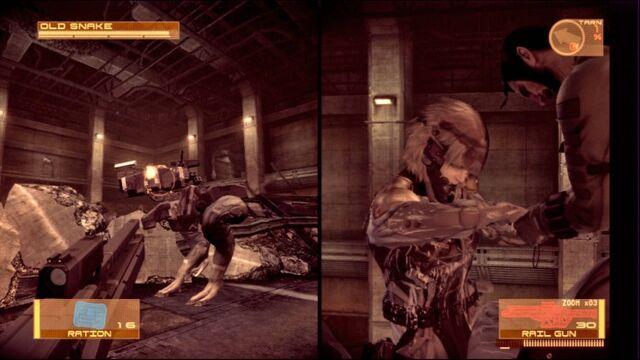 File:Vamp confronting Raiden round 2 (MGS4).jpg