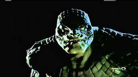 Batman Arkham Origins - Game Over Killer Croc