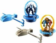 Max Steel Turbo Battlers 2-Pack Rise of Elementor