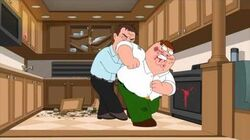 Family guy liam Neeson vs Peter griffin, hilarious fight !