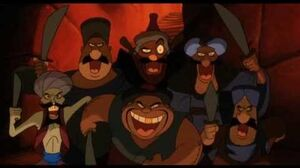 Aladdin & The King of Thieves - Welcome To The Forty Thieves (1080p)