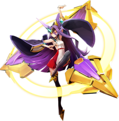 Hades Izanami (Centralfiction, Character Select Artwork)