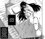 Akame and Kurome in bed