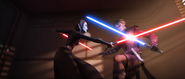 Barriss vs Anakin