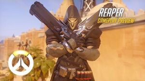 Reaper Gameplay Preview Overwatch 1080p HD, 60 FPS