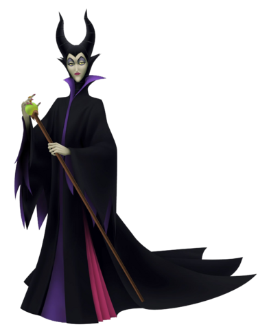File:Maleficent in Kingdom Hearts Birth By Sleep.png