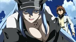 640px-Esdeath and Tatsumi vs. Danger Beasts (6)