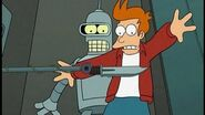 Fry Meets Bender In A Suicide Booth