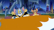 T&J a nutcracker tale - tom the mean, stupid cat and his nemesis Jerry the sweet, lovable mouse on a ride