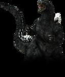 PS3 Godzilla 1989 No Background