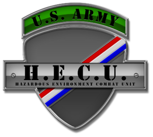 Hazardous Environment Combat Unit Badge