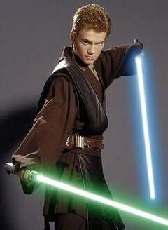 Anakin Skywalker Padawan Jedi
