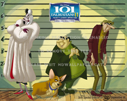 101 Dalmatians villains