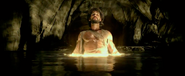 Xerxes in the golden lake and stars to become a God-King