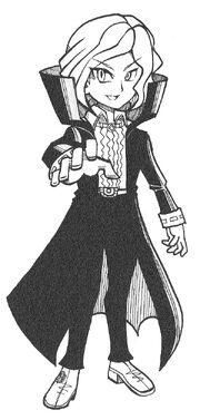 Anthony Herzen in the manga