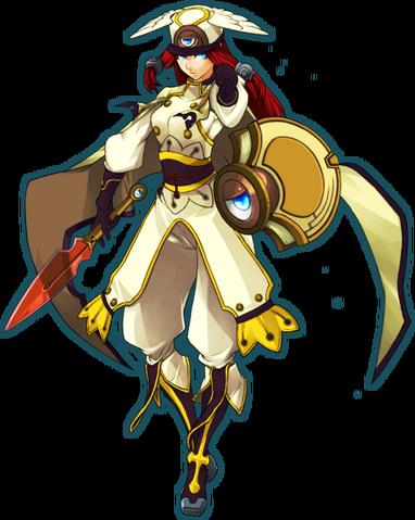 File:Tsubaki Yayoi (Continuum Shift, Character Select Artwork).png