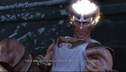 Hermes tuanting Kratos