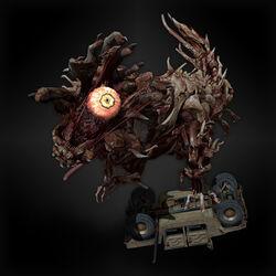 Half Mechanical T-Rex