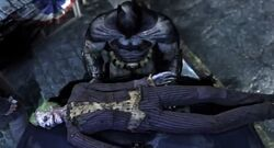 The iconic end to Arkham City
