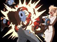 Randa destroys Rossum robot
