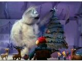 Abominable snowman being good