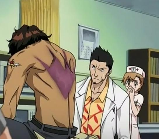 File:Isshin (& Yuzu) examine Sado's wound.png