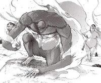 The Beast Titan transforms