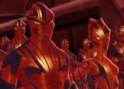 Red sentients