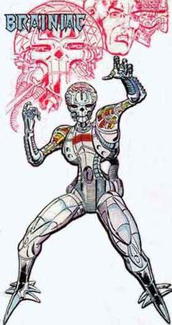 Brainiac Robot