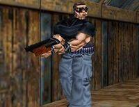 Fiamma Nera Killer with Shotgun