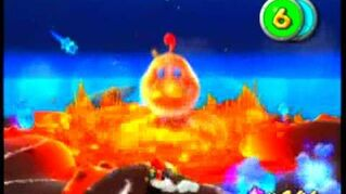Super Mario Galaxy - King Kaliente's Battle Fleet