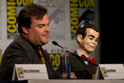 Slappy with Jack Black