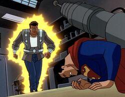 Edward Lytener vs. Superman
