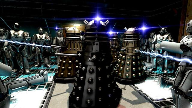 File:The Cult of Skaro vs. the Cybermen.jpg